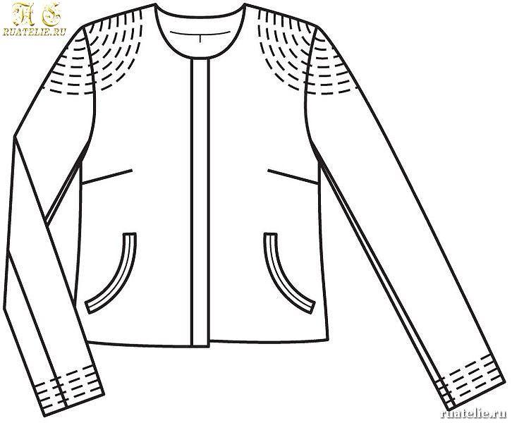 Сшить куртку женскую своими руками бурда 31