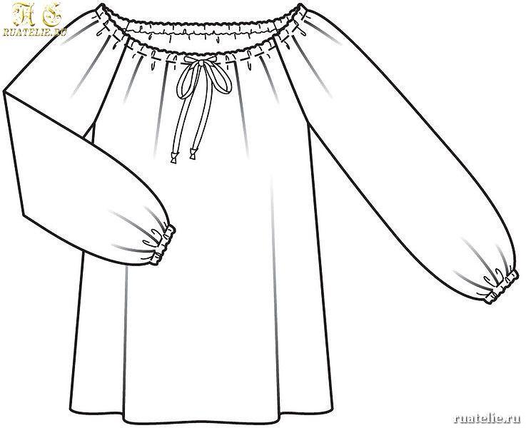 Блузки Лекала
