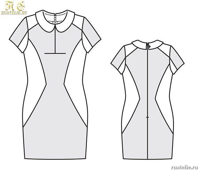 Сшить платье быстро